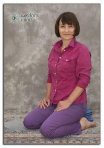 Mindfulness Position kneeling.