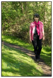 Mindfulness position walking.