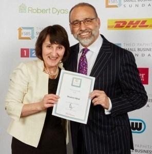 Standing with Theo Paphitis