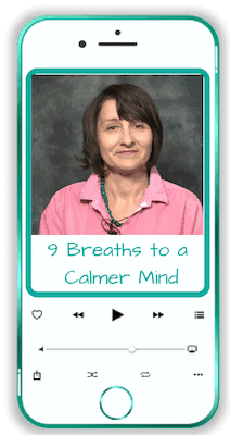 9 Breaths to a Calmer Mind Mobile Phone