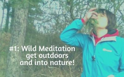 Wild meditation – get outdoors and into nature – try this!