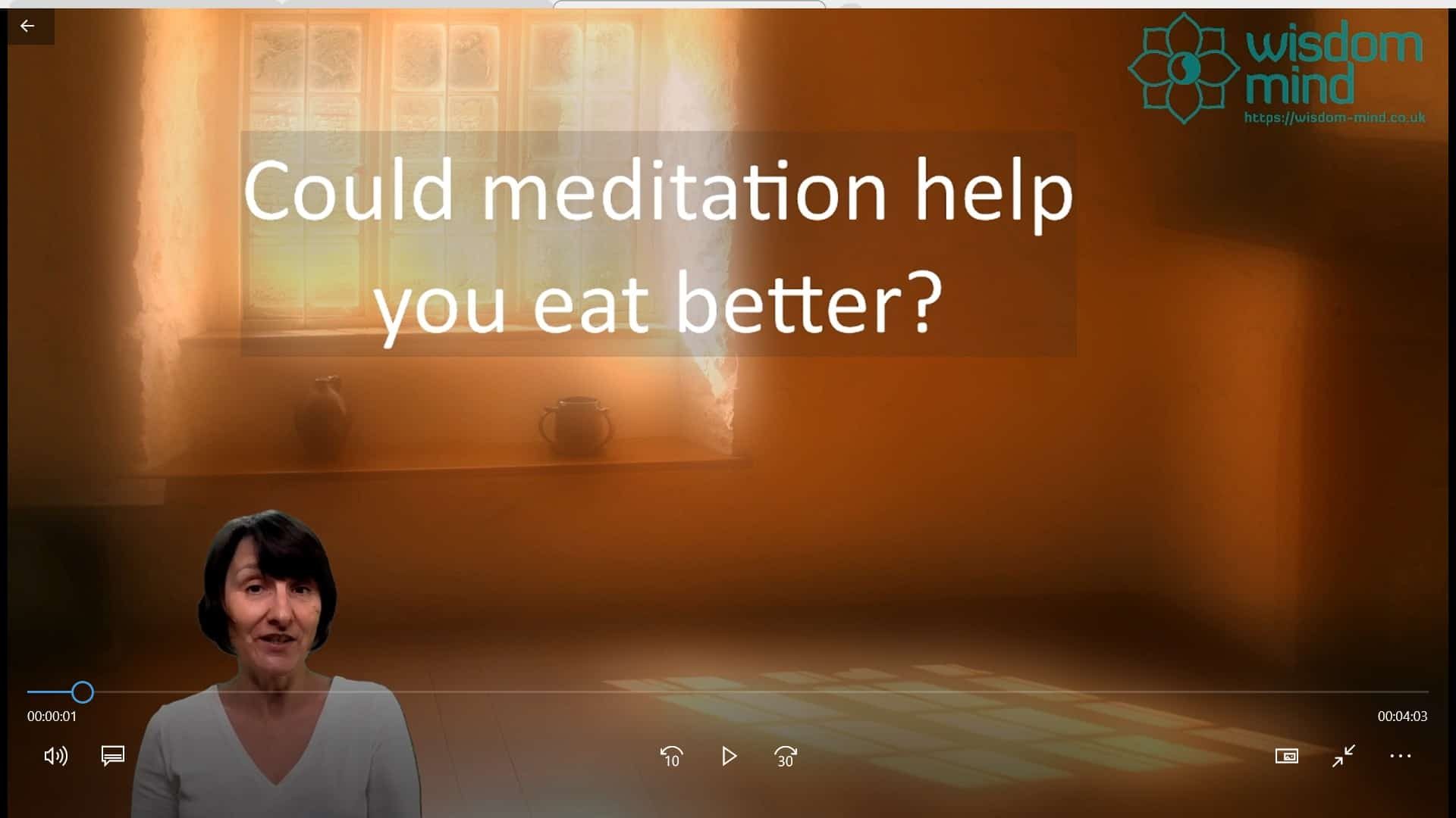 Could meditation help you eat better?